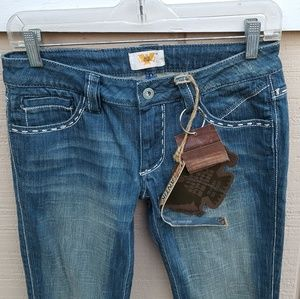 New Antik Denim 27 Monroe Boot Cut Jeans